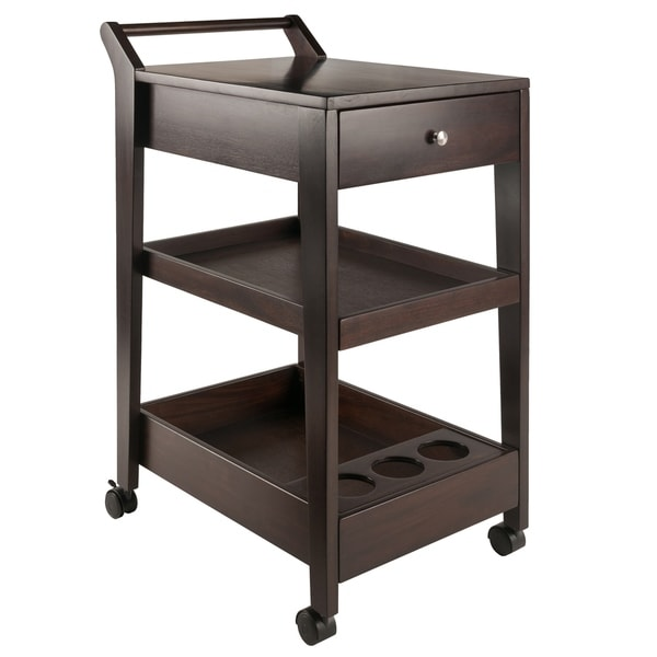 Jeston Entertainment Cart Coffee Finish