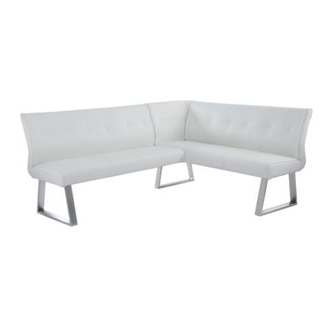 Somette Amelia Reversible Nook in White - N/A