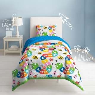Link to Dream Factory Alphabet 3-piece Cotton Comforter Set Similar Items in Kids Comforter Sets