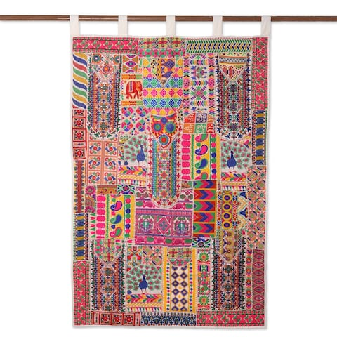 Rajasthan Delight Recycled Cotton Blend Wall Hanging - N/A
