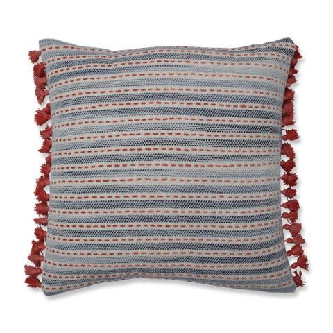Pillow Perfect Ombre Coastal Stripe 16.5-inch Throw Pillow