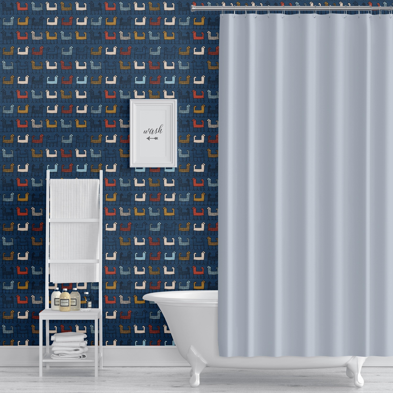 Zagros Blue L And Stick Wallpaper