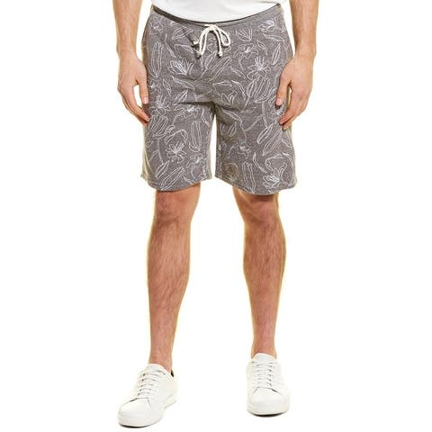 Threads 4 Thought Garret Lily Bud Printed Short - HEATHER GRAY
