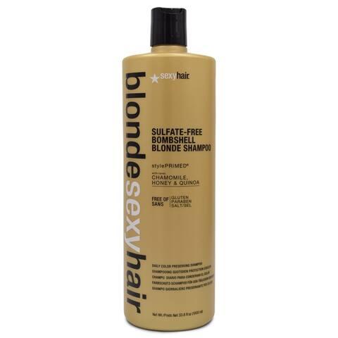 SEXYHAIR Blonde Bombshell Shampoo 33.8 Oz