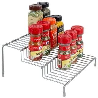 Link to 3 Level Steel Seasoning Rack Silver Similar Items in Kitchen Storage