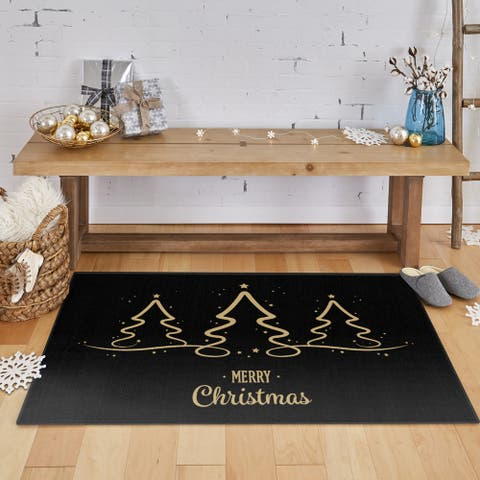 Mohawk Prismatic Calligraphy Trees Area Rug