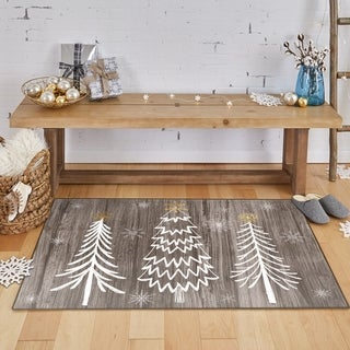 Link to Mohawk Prismatic Barnwood Wonderland Area Rug Similar Items in Christmas Decorations
