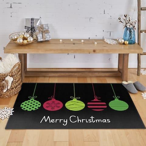 Mohawk Prismatic Merry Ornaments Area Rug