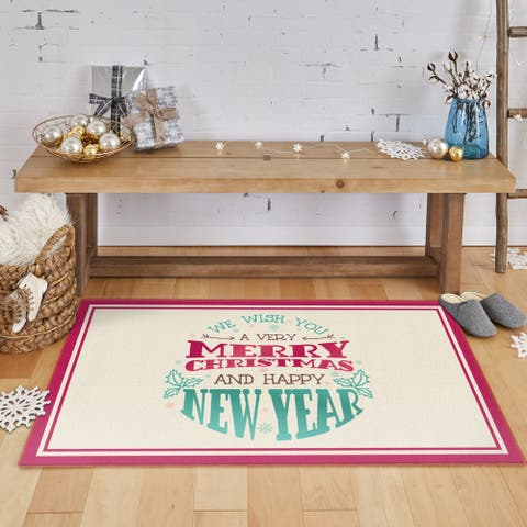 Mohawk Prismatic Holiday Wishes Area Rug