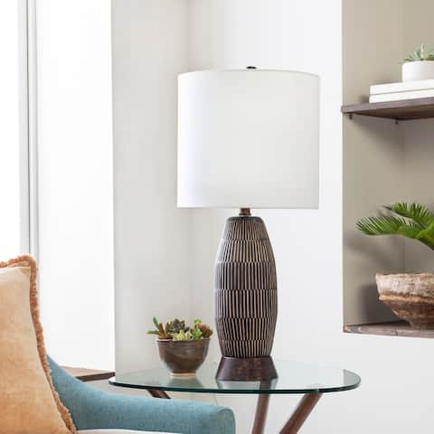 Vayas Hand Finished Modern 29-inch Table Lamp