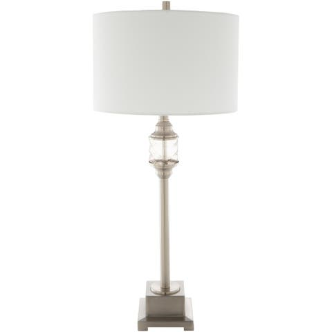 Pineham Traditional Candlestick 33-inch Table Lamp