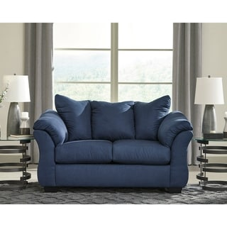 Signature Design by Ashley Darcy Loveseat in Microfiber