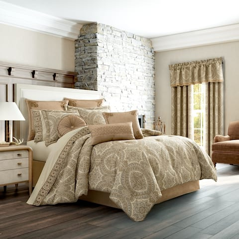Gracewood Hollow Malonga 4-piece Medallion Comforter Set