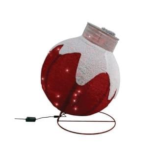 Sylvania Illuminet Ornament LED Yard Art Red Mesh 30 in. 1 pk