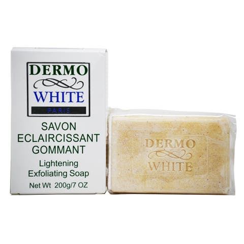 Dermo White Paris Lightening Exfoliating Soap 200g/7oz