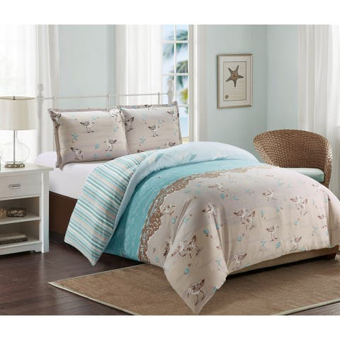 Harper Lane Sandpiper 3-piece Duvet Cover Set