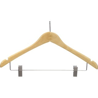 Contoured Anti-Theft Clothes Hanger with P-Nail, Security Hangers for Retail and Hospitality