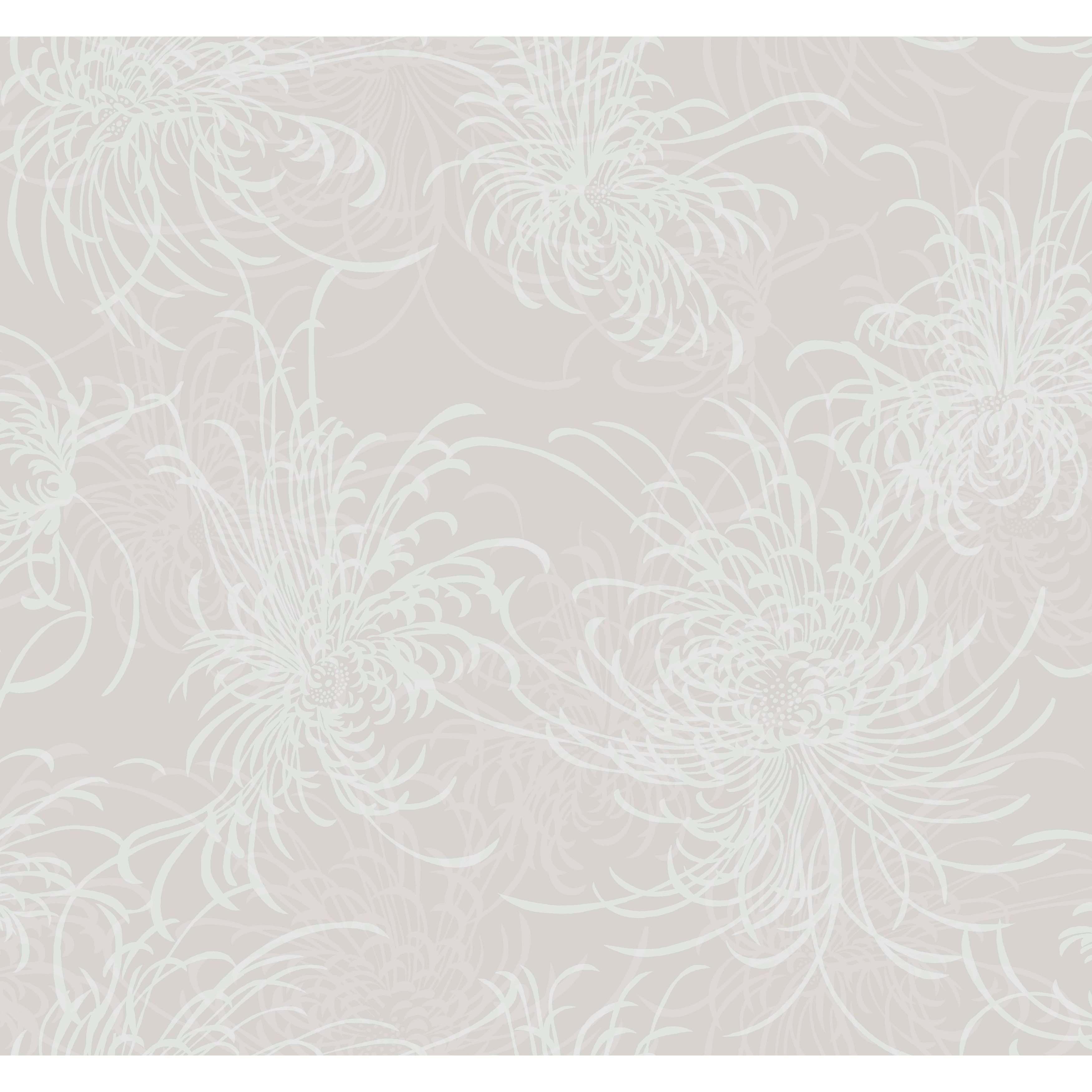 Shop Guelph Noell Floral Metallic Wallpaper 27 X 27 On Sale