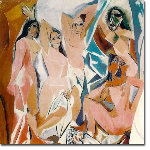 Les Desmoilles by Pablo Picasso Gallery Wrapped Canvas Giclee Art (20 in x 20 in)