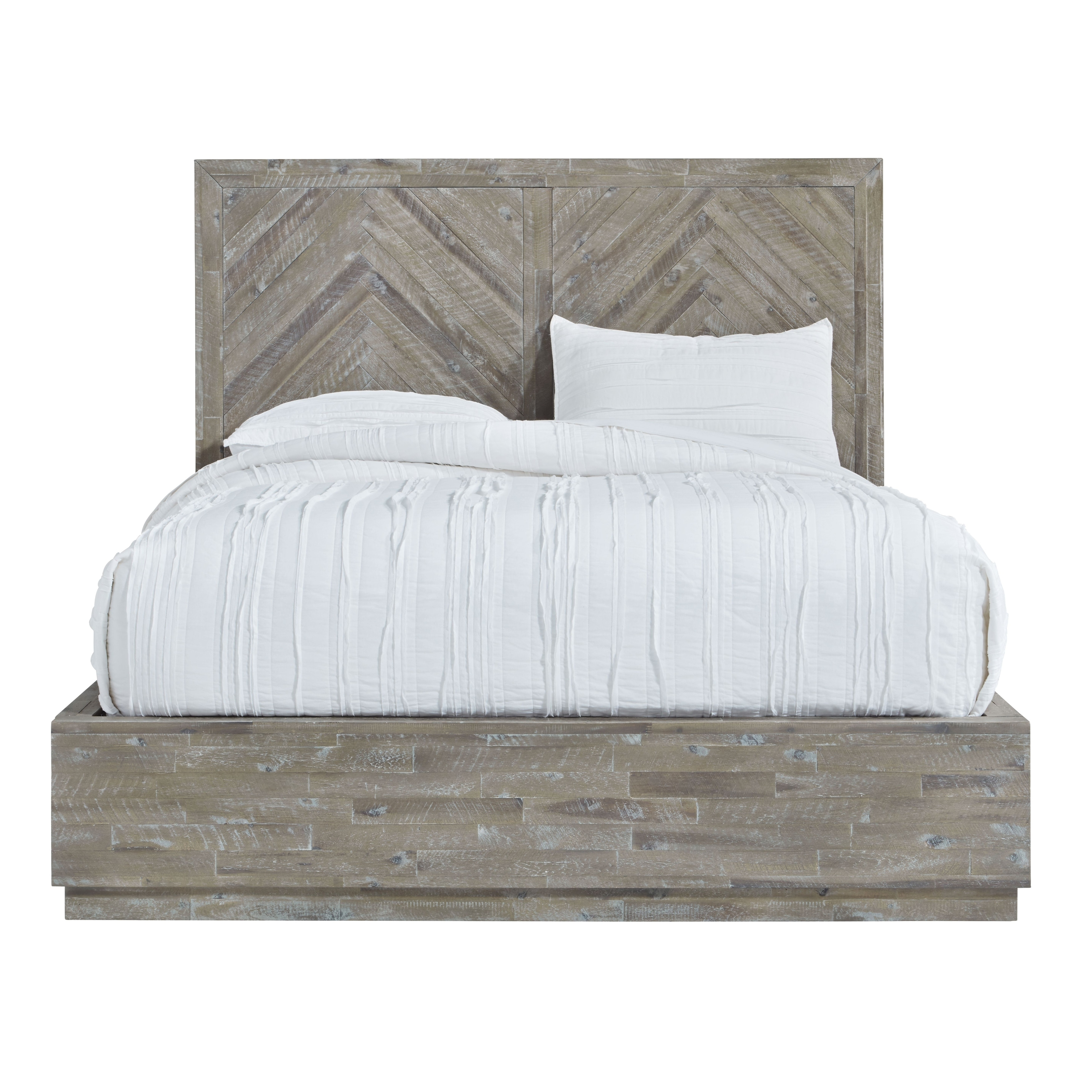 Shop The Gray Barn Morning Star Queen Size Solid Wood Platform Bed