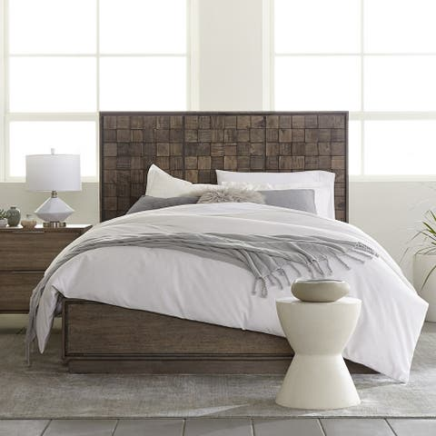 Carson Carrington Tandsbyn King-size Solid Wood Platform Bed