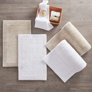 Link to Madison Park Signature Splendor 100-percent Cotton Tufted 3000 GSM Reversible Bath Rug Similar Items in Bath Mats & Rugs