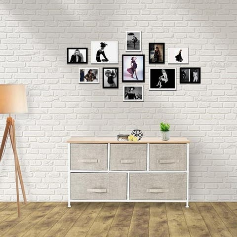 Living Room Unit Storage Cabinet with Drawers Simple TV Stand Chest of Drawers
