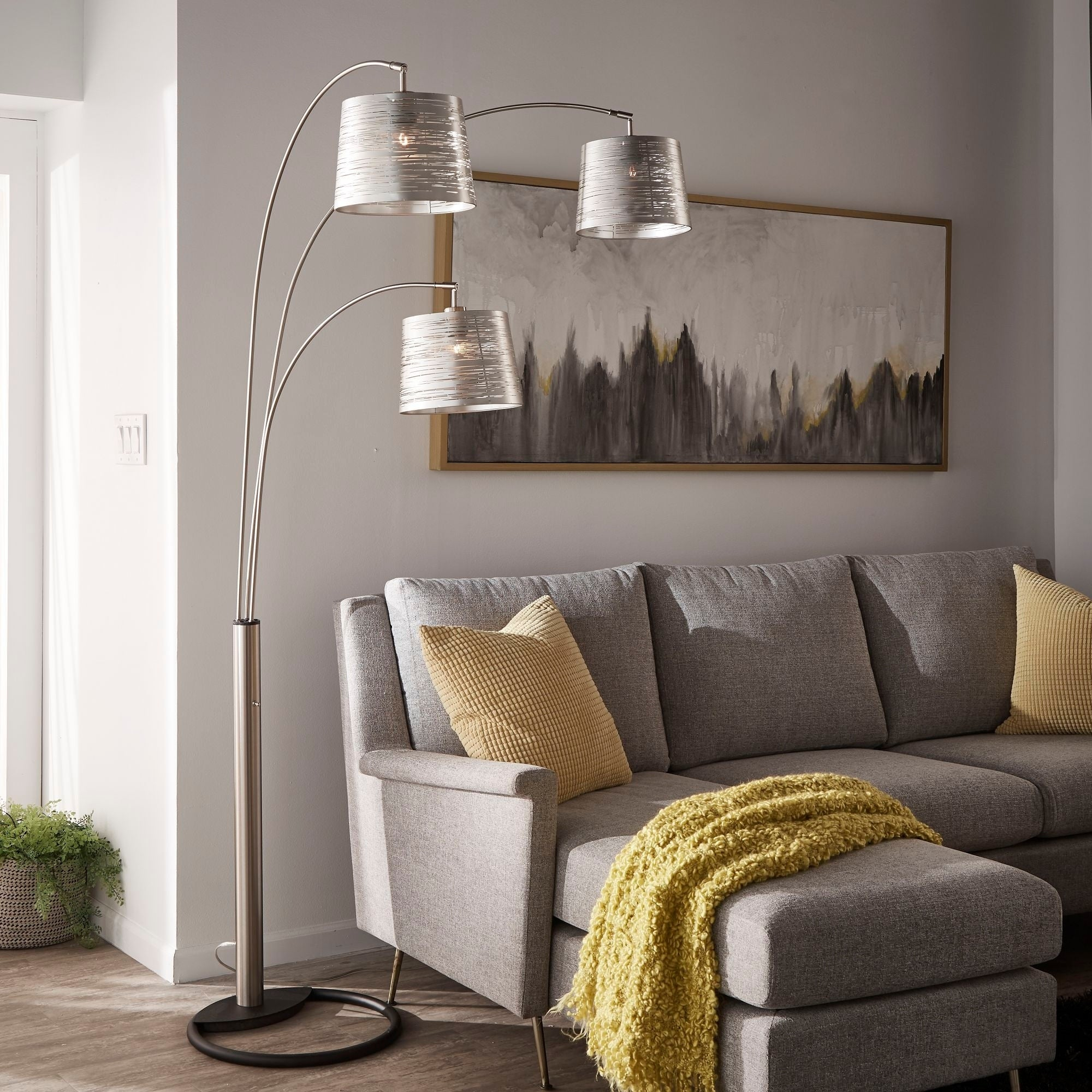 Jac 3 Light Tree Floor Lamp By
