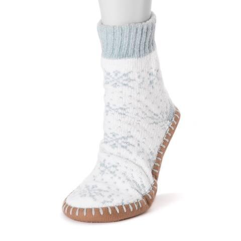 Women's Chenille Short Slipper Socks