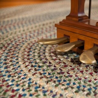 Link to Colonial Mills Amherst Handcrafted Braided Area Rug Similar Items in Classic Rugs