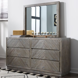 The Gray Barn Morning Star Solid Wood 6-drawer Dresser in Rustic Latte