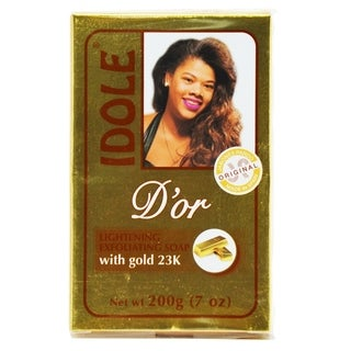 IDOLE D'or Lightening Exfoliating Soap with Gold 23K 200g/7oz