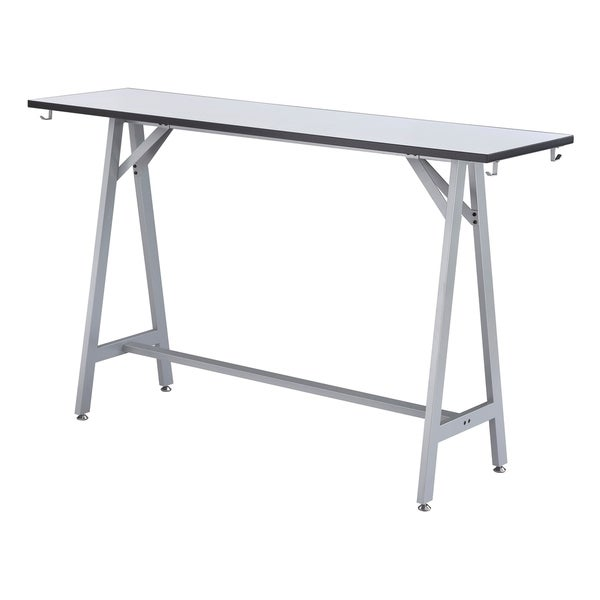 "Spark Standing-Height Teaming Table- 72"" W"