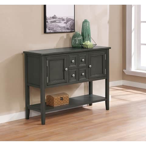 Best Quality Furniture Rustic Server Only