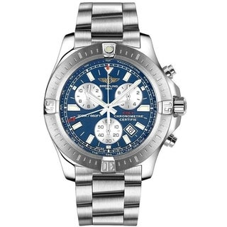 Link to Breitling Men's A7338811-C905-173A 'Colt Chronograph' Chronograph Stainless Steel Watch Similar Items in Men's Watches