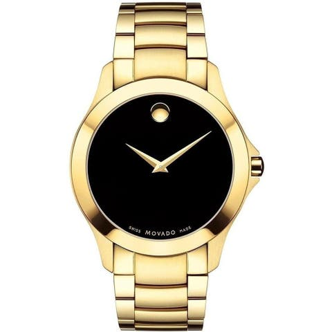 Movado Men's 0607034 'Masino' Gold-Tone Stainless Steel Watch