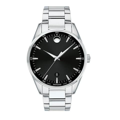 Movado Men's 0607243 'Stratus' Stainless Steel Watch