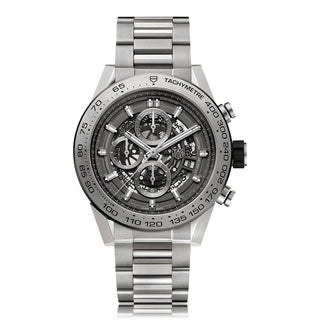 Link to Tag Heuer Men's CAR5A8Y.BF0707 'Carrera' Chronograph Titanium Watch Similar Items in Women's Watches