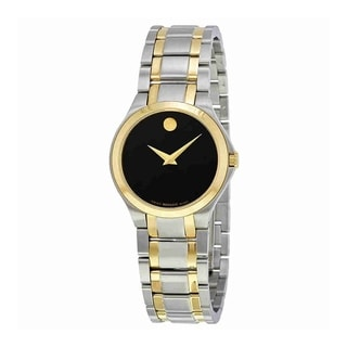 Link to Movado Women's 0606897 'Collection' Two-Tone Stainless Steel Watch Similar Items in Women's Watches
