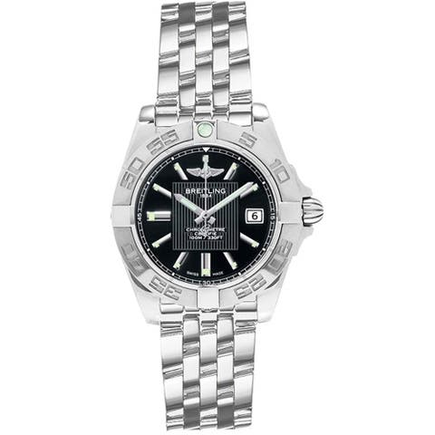 Breitling Women's A71356L2-BA10-367A 'Galactic 32' Stainless Steel Watch