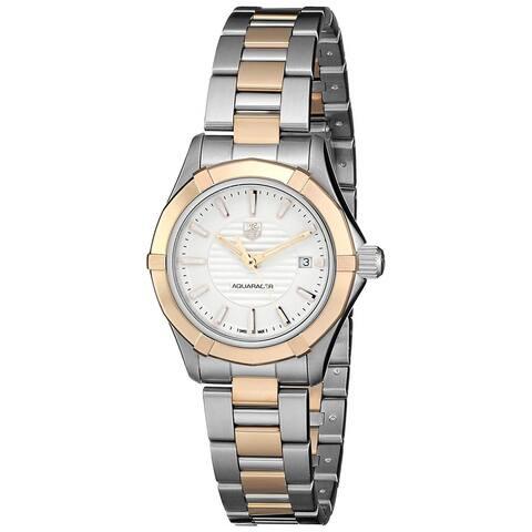 Tag Heuer Women's WAP1450.BA0837 'Aquaracer' Two-Tone Stainless Steel Watch
