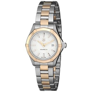 Link to Tag Heuer Women's WAP1450.BA0837 'Aquaracer' Two-Tone Stainless Steel Watch Similar Items in Women's Watches
