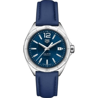 Link to Tag Heuer Women's WBJ1312.FC8231 'Formula 1' Blue Leather Watch Similar Items in Women's Watches