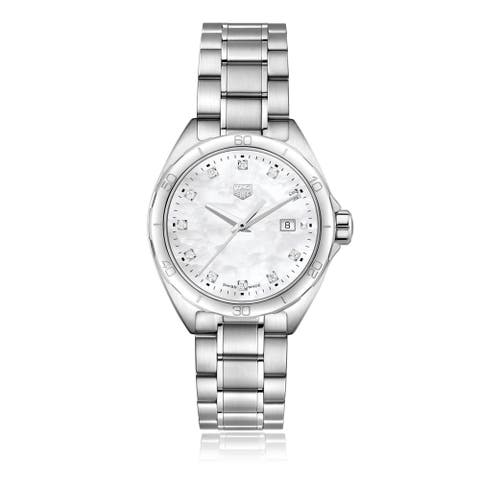 Tag Heuer Women's WBJ1319.BA0666 'Formula 1' Diamond Stainless Steel Watch