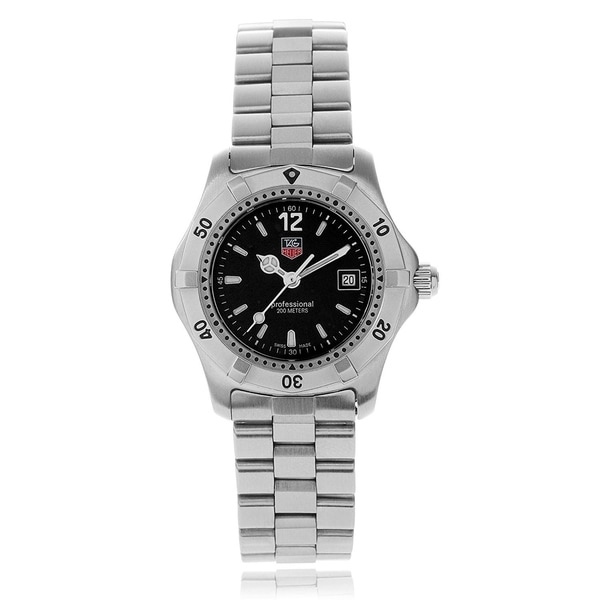 Tag Heuer Women's WK1310.BA0319 'Professional 2000' Stainless Steel Watch. Opens flyout.