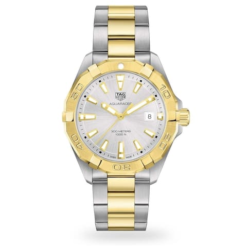 Tag Heuer Men's WBD1120.BB0930 'Aquaracer' Two-Tone Stainless Steel Watch