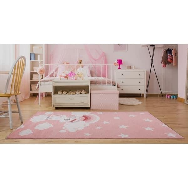 Area Rug Carpet Mat With Unicorn