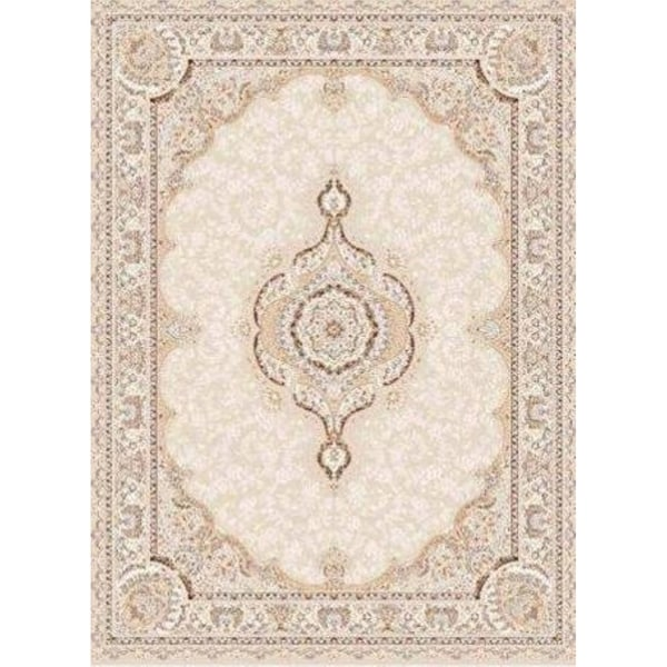 La Dole Rugs Cream Beige Tan Vintage Traditional Flat Pile Light Area Rug Carpet Living Room Hallway Patio 5x7, 8x10, 7X9 feet