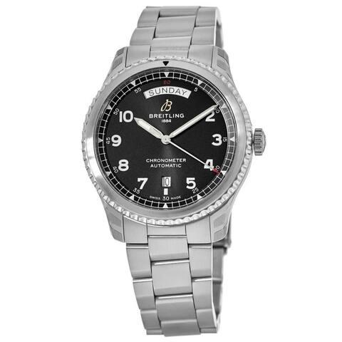 Breitling Men's A4533010-BG86-187A 'Navitimer 8' Stainless Steel Watch