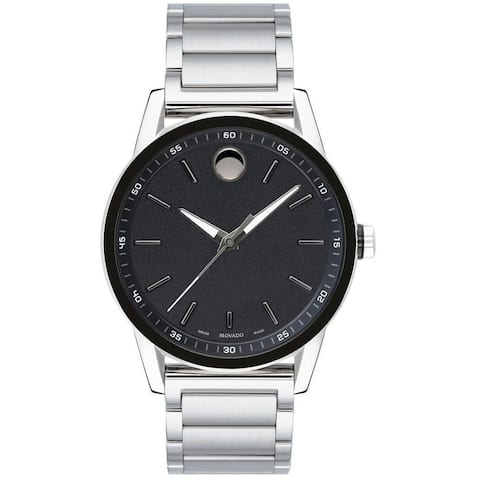Movado Men's 0607225 'Museum' Stainless Steel Watch
